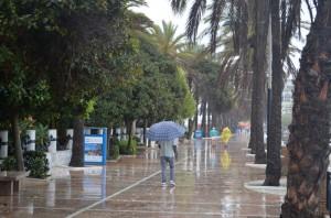 Дождливый день в Марбелье