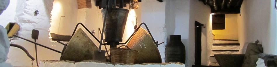 Стариннная крестьянская мельница