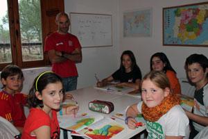 Урок испанского в школе Spanish in Nature