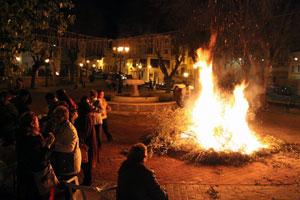 Фестиваль огня в Хаэне