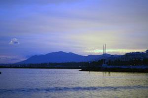Закат в Марбелье