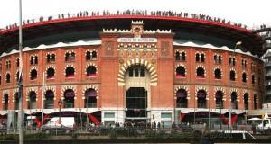 Арена для боя быков в Барселоне