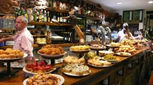 Испанские закуски - тапас