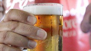 Холодное пиво против летнего зноя